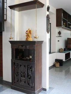 Home library decor diy Ideas Home Library Decor, Home Library Design, Home Interior Design, House Design, Temple Design For Home, Indian Home Design, Indian Home Decor, Altar, Mandir Design
