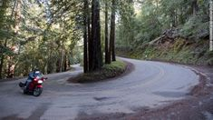 10 best motorcycle roads in the US.  I'm sorry to say I've only been on one of them :(