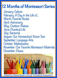 A weekly outline of our Montessori at home preschool plans years). Plus, links to practical life skills, Montessori materials list, and free printables! These unit studies can be used for homeschool or after school fun activities to supplement learning. Maria Montessori, Montessori Science, Montessori Practical Life, Montessori Homeschool, Montessori Classroom, Preschool Curriculum, Preschool Themes, Montessori Toddler, Homeschooling