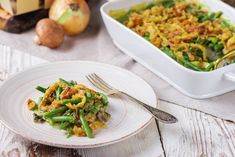 Bake This Delicious Classic Holiday Green Bean Casserole