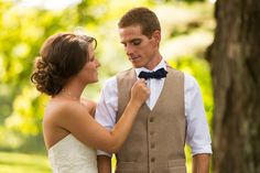 Colorful Rustic Wedding with Sweet, Handmade Elements by Menning Photographic