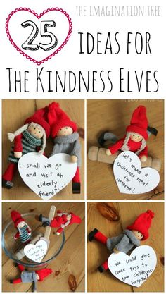 Alternative for Elf on the Shelf - Kindness Elves! 25 ideas for using the Kindness Elves to promote acts of kindness this Christmas Noel Christmas, All Things Christmas, Winter Christmas, Xmas, Christmas Ideas, Winter Holidays, Christmas Scripture, Christmas Tables, Christmas Child