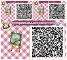 Some mossy one wide spring paths! I think this matches Feb through April - Animal Crossing New Leaf - Animal Crossing Qr Codes Clothes, Animal Crossing Game, Acnl Paths, Theme Nature, Motif Acnl, Ac New Leaf, Happy Home Designer, Path Design, Stone Path