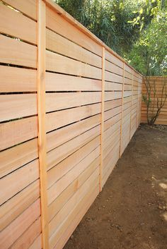 100 Great Backyard Privacy Fence Design Ideas To Get Inspired 14 - Home Sweet Backyard Privacy, Backyard Fences, Fenced In Yard, Backyard Landscaping, Garden Fences, Backyard Ideas, Yard Fencing, Patio Fence, Landscaping Ideas