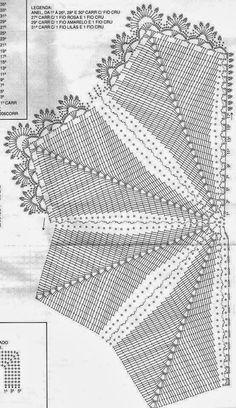 FEITOS POR MIM BY LU RONTANI: Gráficos de tapetes em crochê em formato de peixe