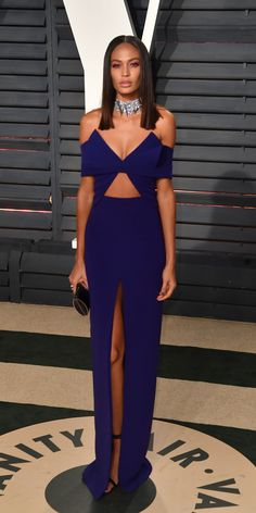 BEVERLY HILLS, CA - FEBRUARY 26:  Model Joan Smalls attends the 2017 Vanity Fair Oscar Party hosted by Graydon Carter at Wallis Annenberg Center for the Performing Arts on February 26, 2017 in Beverly Hills, California.  (Photo by C Flanigan/Getty Images) via @AOL_Lifestyle Read more: https://www.aol.com/article/entertainment/2017/02/26/vanity-fair-oscars-party-2017-red-carpet-arrivals/21722268/?a_dgi=aolshare_pinterest#fullscreen