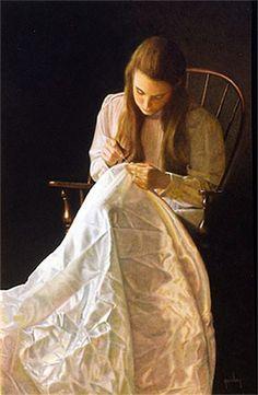 Peter Taylor Quidley - Seamstress ...réépinglé par Maurie Daboux ♬♩♬