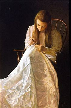 """Seamstress"" by Peter Taylor Quidley"