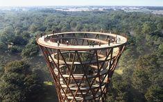 Forest Tower in Camp Adventure near Copenhagen, Denmark | InsideHook