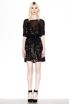 Proof that sequins aren't leaving anytime soon. I adore this sequin dress for day or night on a cruise or at a resort.