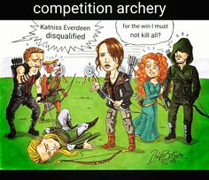 #arrow #hawkeye #thehungergames #queen #Oliver #brave #Katniss #Everdeen #RobinGood