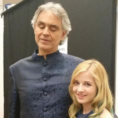 With Andrea Bocelli in Bangkok. 2015