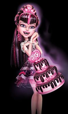 Monster High Art, Monster High Characters, Monster High Birthday, Aesthetic Hair, Aesthetic Photo, Aesthetic Pictures, Girl Cartoon, Cartoon Art, Princesa Disney Frozen