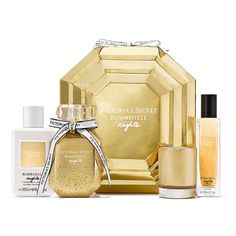 Limited Edition Bombshell Nights Fragrance Collection x Victoria's Secret  The American designer, manufacturer, and marketer of women's premium lingerie, womenswear, and beauty products releases Bombshell Nights Fragrance Collection, a new declination fro