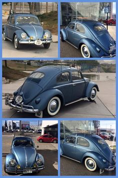 My dad had a blue Volkswagen like this in 1974-80 to drive a 70 mile weekly commute everyday to work to save gas money...