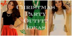 "Christmas Party Outfit Ideas 2013 ♥ ""Holiday Sparkle"""