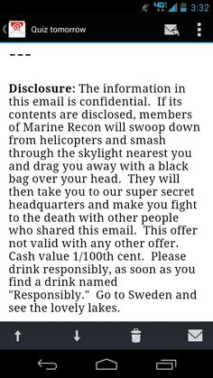 This is from one of my teachers emails, he is a Marine