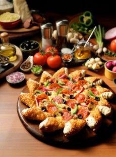 Pizza Hut va lancer au Moyen-Orient la Cone Crust Pizza. Une nouvelle pizza qui va faire baver les plus gourmands et donner des sueurs froides à tous les nutritionnistes.