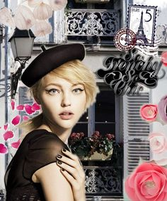 """""""So FrEnChY, sO cHic !""""  Bazaart of the Week 01/07/2013-01/13/2013 created with Bazaart by @Isabelle Choi Chopin"""