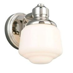 Whitford 1-Light Polished Nickel Wall Sconce-HJD1391A at The Home Depot