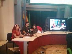 En el II Encuentro de Poetas de Ahora en Algeciras.