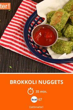 Brokkoli Nuggets - die grüne Fingerfood-Variante!!!