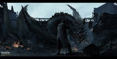 ArtStation - dragon, G liulian