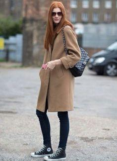 Inspiration: Camel Coat.