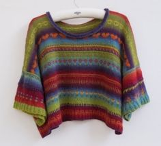 Gorgeous pattern/tutorial from SKD Yarns, using Kauni Effekt Yarn. Meg Foster is a talented designer who has written a clear guide to make this beautiful garment http://www.skdyarns.net/contents/en-uk/d343_PATTERNS_DATABASE_-_KAUNI_and_OTHERS.html