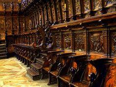 Sillería del Coro de la Catedral de Burgos.