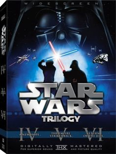 Star Wars Original Trilogy DVD Boxset It includes the theatrical & special editions of Star Wars IV: A New Hope, Star Wars Episode V: The Empire Strikes Back, and Star Wars Episode VI: Return of the Jedi.