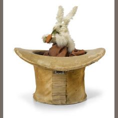 A Rabbit in a top hat . French, late 19th century Sold for US$ 3,125 inc. premium
