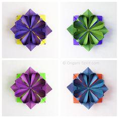 Origami: come fare fiore geometrico – Video Tutorial