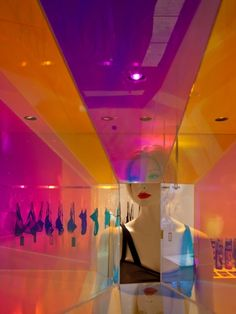 Interior (retail) design: The Lake & Stars Pop-Up Shop, NYC; design by SOFTlab and Focus Lighting.