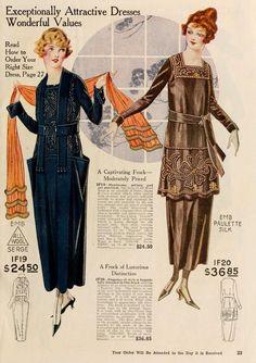 1919 fashion dresses