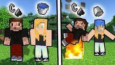 JAK ZROBIĆ WODNY/OGNISTY SKIN - Minecraft Skin - Narysuj siebie! View Video, Mini Games, Minecraft Skins, Fictional Characters, Fantasy Characters