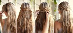 its a easy hair style that yoy can do on your own <3 <3
