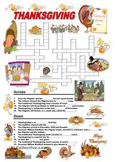 Thanksgiving - Quizz