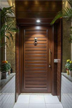 Modern Entrance Door, Main Entrance Door Design, Wooden Front Door Design, Home Entrance Decor, Wooden Doors, House Main Door Design, House Arch Design, Bedroom Door Design, Bungalow House Design