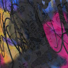Giovanna Fra, Overexposed, 2018, fotografia digitale elaborata e smalto su tela, cm 130x130