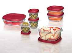 Easy Find Lids food storage containers are easy to find and organize for everyday food storage....