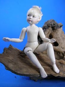 14-jointed paperclay elf - Jane Davies
