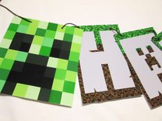 Minecraft Party Favor Bags set of 12 Free by MKCDecorations