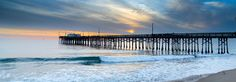 Balboa Pier Surf - http://www.greatbigphotos.com/products/beaches/balboa-pier-surf/