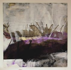 Cold Wax Series by Karen L Darling, via Flickr