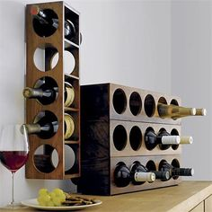 Rather than buying party hosts yet another bottle of wine, why not give them a place to keep it? >> http://www.frontdoor.com/buy/frontdoor-gift-guide-housewarming-and-host-gift-ideas/pictures/pg214?soc=hpp#