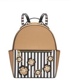 WEST 57TH BOUQUET APPLIQUE BACKPACK