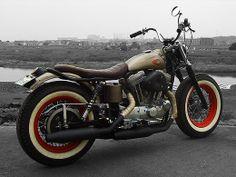 HDM - from Hide Motorcycle Custom on Harleys