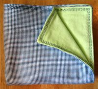 softest double-sided flannel baby blanket sewing tutorial