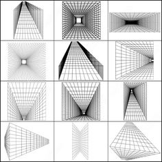 brush of perspective abstract shapes Perspective Drawing Lessons, Perspective Sketch, How To Draw Perspective, Architecture Drawing Art, Background Drawing, Geometry Art, Illusion Art, Digital Art Tutorial, Environment Concept Art